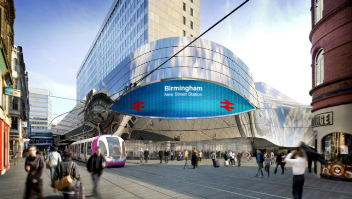 New Street Station wins UK Project of the Year