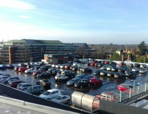 Waitrose Solihull Car Park